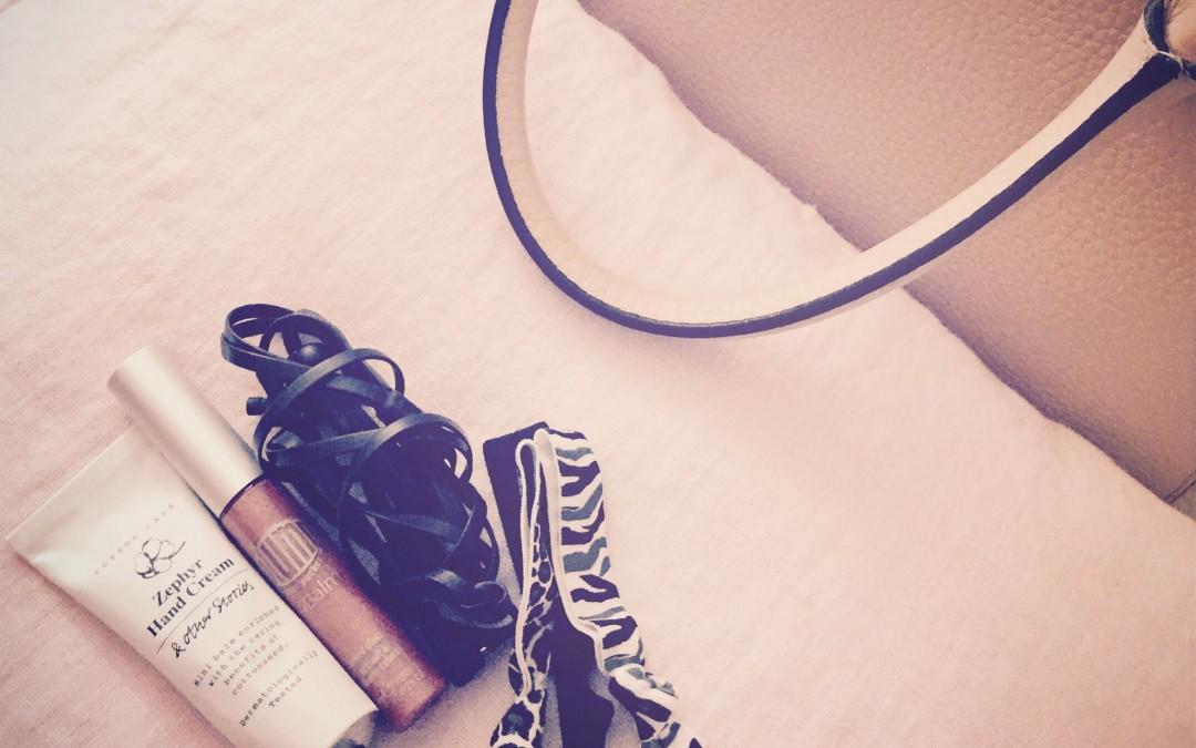 Mina favoriter i handväskan