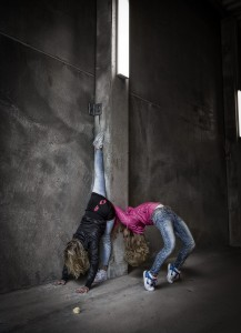 Streetyoga Malin Berg & Louise Stapel