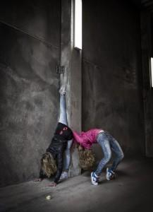 Streetyoga Malin Berg & Louise Stapel