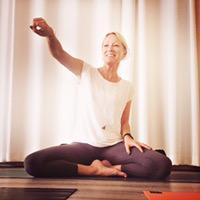 Fullsatt yogaworkshop