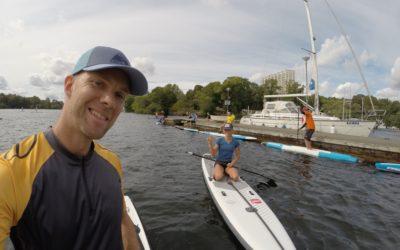 Att träna med Stand up paddle